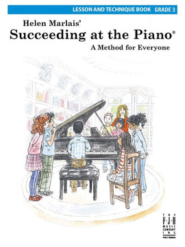 SUCCEEDING AT THE PIANO GR 3 LESSON TECH BOOK