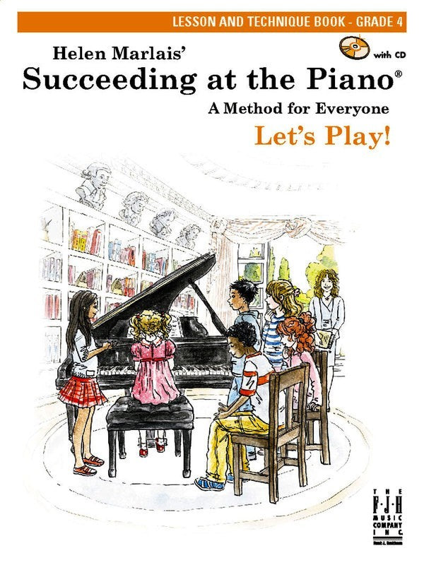 SUCCEEDING AT THE PIANO GR 4 LESSON & TECH BK/CD