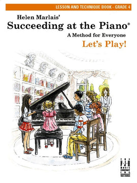 SUCCEEDING AT THE PIANO GR 4 LESSON & TECH BOOK