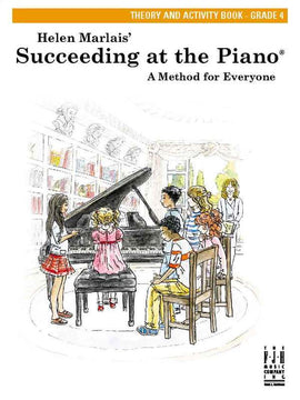 SUCCEEDING AT THE PIANO GR 4 THEORY & ACTIVITY