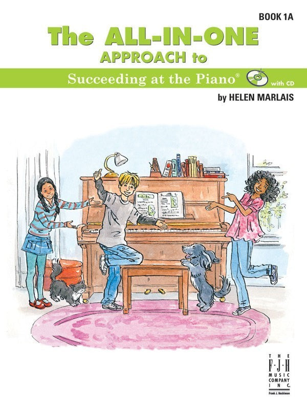 ALL IN ONE APPROACH SUCCEEDING PIANO BK 1A