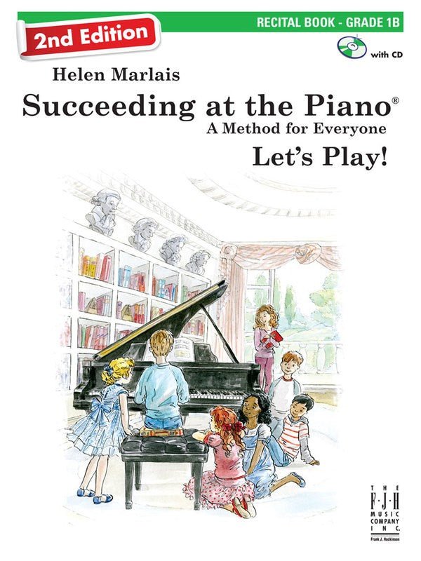 SUCCEEDING AT THE PIANO 2ND ED GRADE 1B RECITAL BK/CD