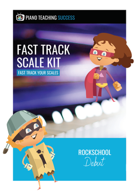 FAST TRACK SCALE KIT - ROCKSCHOOL DEBUT