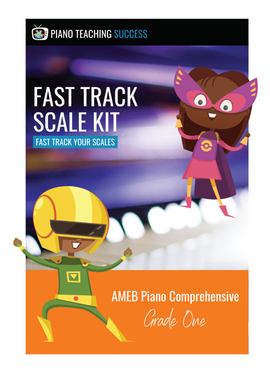 FAST TRACK SCALE KIT - AMEB PIANO (COMPREHENSIVE) GRADE 1
