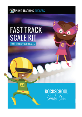 FAST TRACK SCALE KIT - ROCKSCHOOL GRADE 1