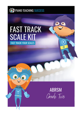 FAST TRACK SCALE KIT - ABRSM GRADE 2