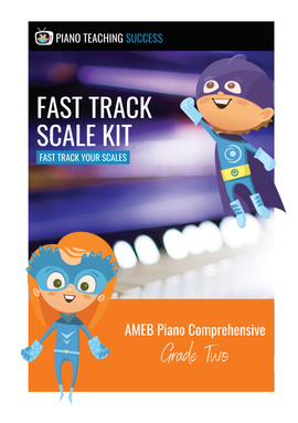 FAST TRACK SCALE KIT - AMEB PIANO (COMPREHENSIVE) GRADE 2