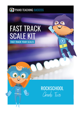 FAST TRACK SCALE KIT - ROCKSCHOOL GRADE 2
