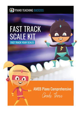 FAST TRACK SCALE KIT - AMEB PIANO (COMPREHENSIVE) GRADE 3