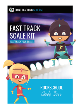FAST TRACK SCALE KIT - ROCKSCHOOL GRADE 3