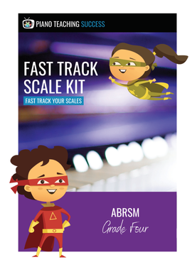 FAST TRACK SCALE KIT - ABRSM GRADE 4