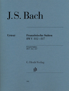 BACH - FRENCH SUITES BWV 812-817
