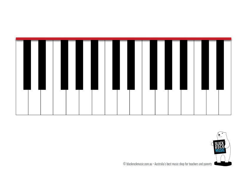 Keyboard with 2 Octaves