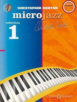 CHRISTOPHER NORTON MICROJAZZ COLLECTION 1 PIANO BK/CD