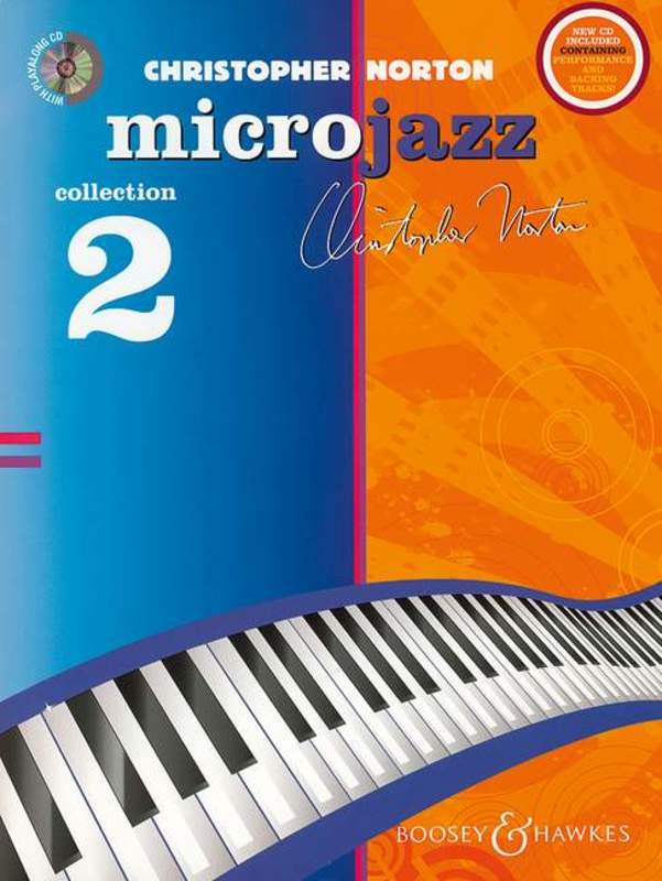 CHRISTOPHER NORTON MICROJAZZ COLLECTION 2 PIANO BK/CD