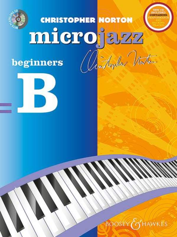 MICROJAZZ FOR BEGINNERS PIANO BK/CD