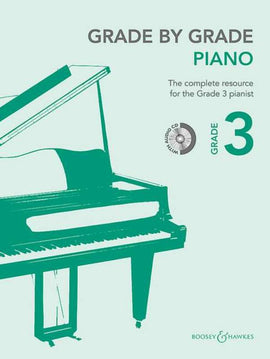 GRADE BY GRADE PIANO GRADE 3 BK/CD