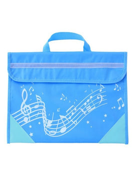 Musicwear - Wavy Stave Music Bag - Light Blue