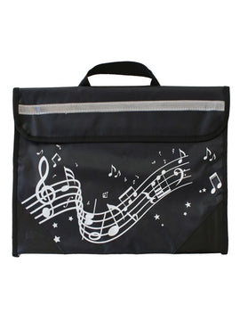 Musicwear - Wavy Stave Music Bag - Black