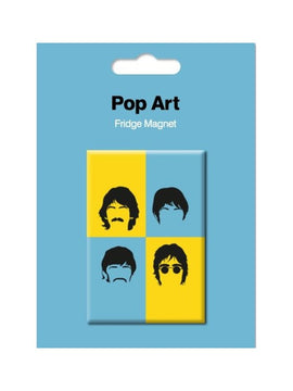 The Beatles Fridge Magnet Pop Art Style