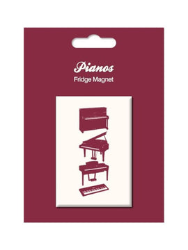 Pianos Vintage Fridge Magnet