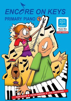 ENCORE ON KEYS PRIMARY SERIES CD KIT LEVEL 1