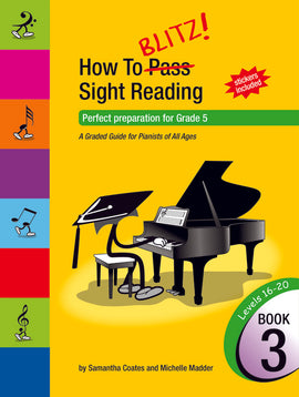HOW TO BLITZ SIGHT READING BOOK 3 (GR5)