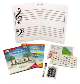Wilbecks Easy Notes Kit - Large Magnetic Stave