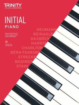 TRINITY COLLEGE PIANO PIECES & EXERCISES INITIAL 2018-2020 BK/CD