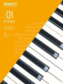 TRINITY COLLEGE PIANO PIECES & EXERCISES GR 1 2018-2020 BK/CD