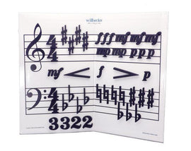 Wilbecks Sharps and Flats Magnets