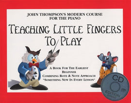 TEACHING LITTLE FINGERS TO PLAY BK/CD