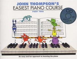 EASIEST PIANO COURSE PART 2 BK/CD