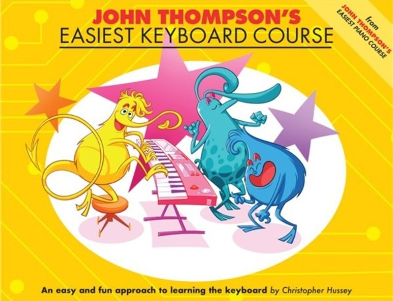 JOHN THOMPSONS EASIEST KEYBOARD COURSE