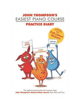 EASIEST PIANO COURSE PRACTICE DIARY