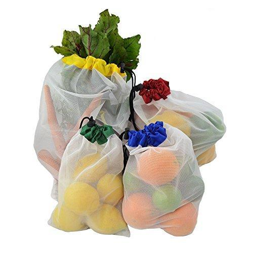 Reusable Mesh Produce Bags Set of 12