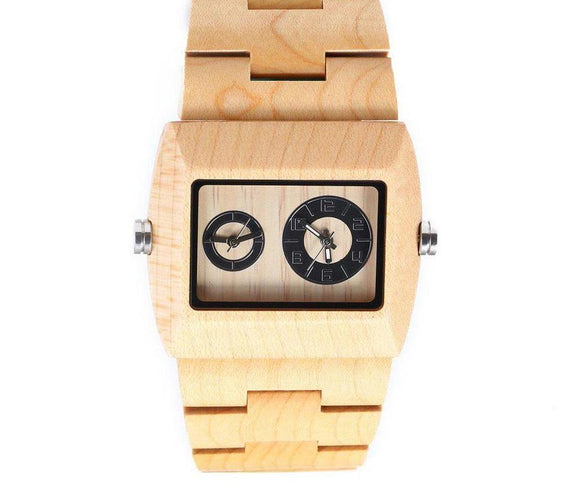 Luxury Wooded Analog Watch