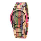 Vibrant Eco-friendly Watch, Handmade from high-quality Bamboo from BEWELL