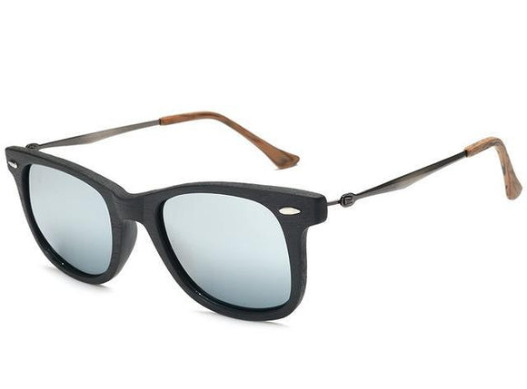 Wooded Retro Classic Sunglasses