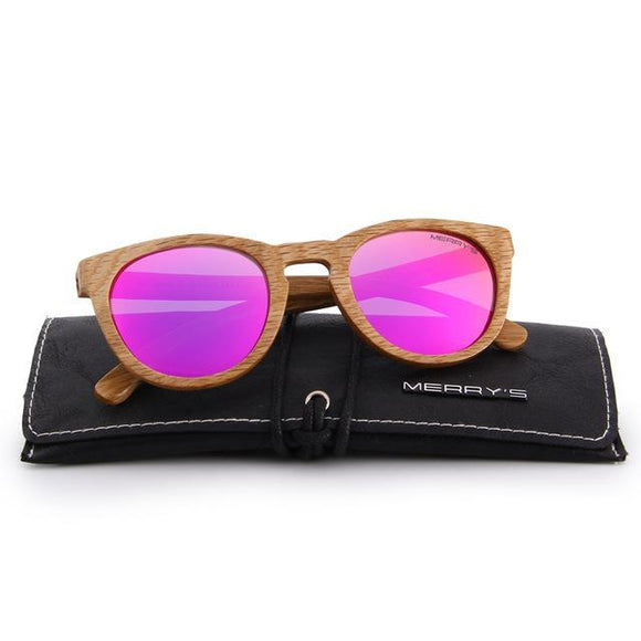 Hand Made Wooden Sunglasses MERRY'S