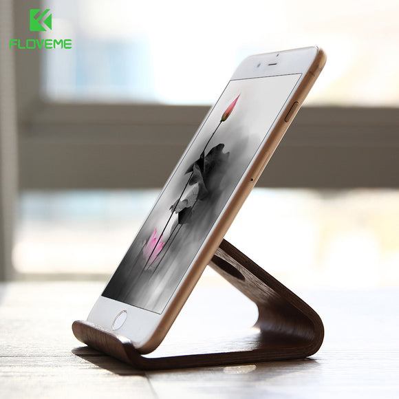 Natural Wooden Tablet Stand