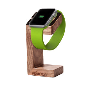 Handcrafted Wooden Charging Platform For Apple Watch
