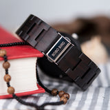 Natural Ebony Wooden Watch