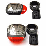 Solar Powered LED Rear Flashing Bike Tail Light