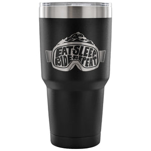 Eat Sleep Ride Repeat 30 oz Tumbler - Travel Cup, Coffee Mug