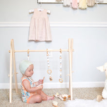 Load image into Gallery viewer, Modern Wooden Baby Play Gym