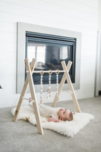 Modern Wooden Baby Play Gym