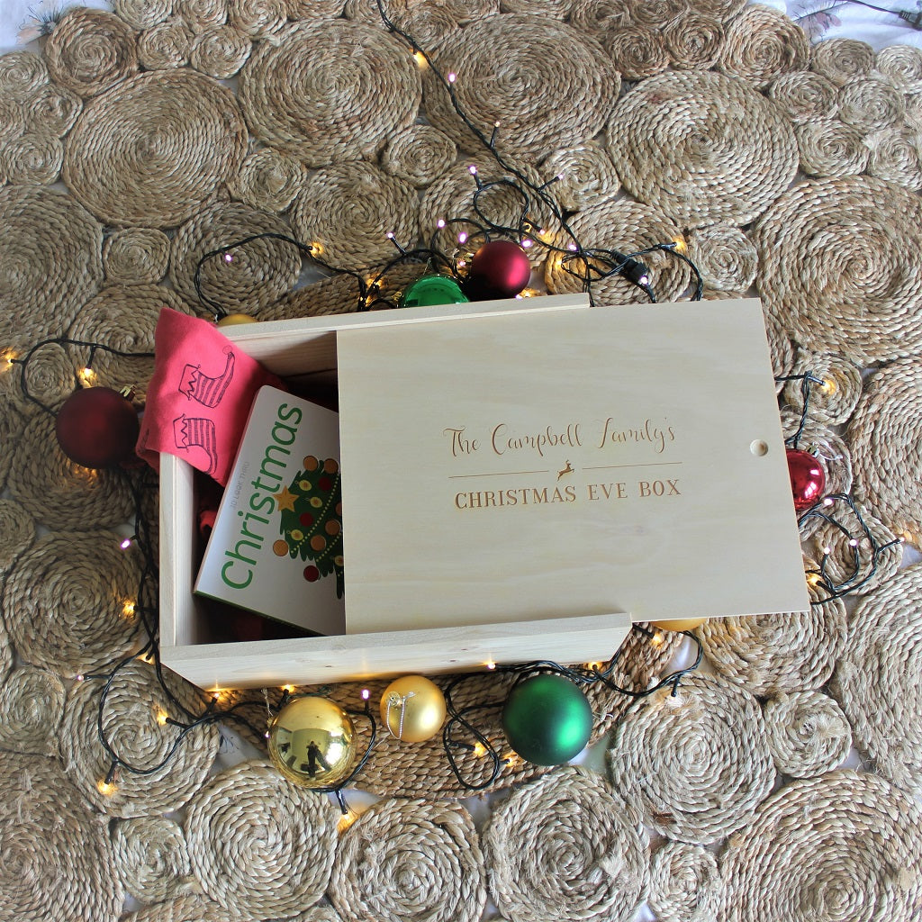 Reindeer Christmas Keepsake Box
