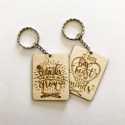 Teacher Appreciation Keyrings