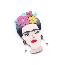 Load image into Gallery viewer, Frida Brooch